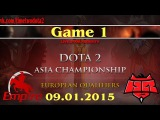 Empire vs HR #1 (bo3) (Ru) | Dota2 Asian Championship 2015: Europe Qualifier