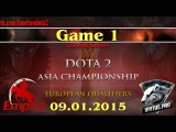 Empire vs VP.Polar #1 (bo3) (Ru) | Dota2 Asian Championship 2015: Europe Qualifier