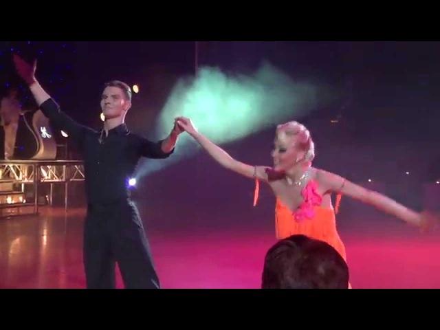 Dmitry Zharkov Olga Kulikova Show Case 2015 Quickstep Samba