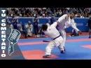 -75 Kg. AGHAYEV (AZE) BUSA (ITA) Open de Paris Karate 2015.