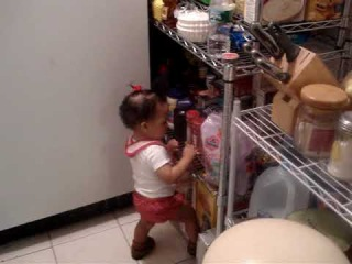 11 month old  Baby argues with mom