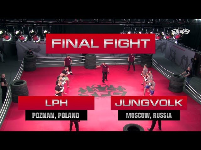Video of final Fight of the TFC Event 1 LPH Poznan Poland vs JungVolk Moscow Russia