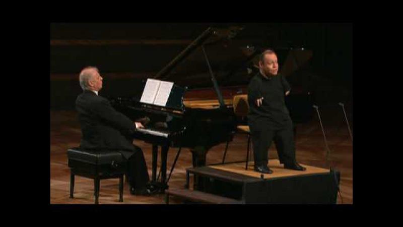 Schubert - Der Leiermann - Thomas Quasthoff / Daniel Barenboim