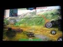 EXEQ AIM Pro (JXD s7800b) при подключении к ТВ, игра: World of Tanks