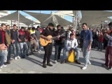 Koma Siyaba İzmir Saat Kulesinde Özgürlüğü İfade Ediyor