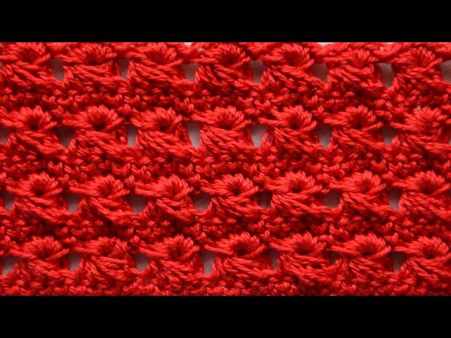 ♥ Узор из вытянутых петель крючком • Перуанское вязание • Брумстик без линейки • ellej.org