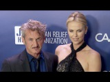 Sean Penn &amp Charlize Theron at the Sean Penn &amp Friends Help Haiti Home 2015