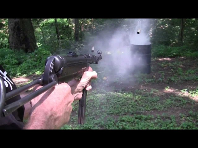 MP40 Full Auto Fun