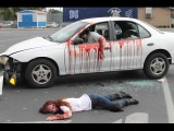 Iron Pedestrians  vs car accidents fails compilation on way | Car crash people russian 2015 #3