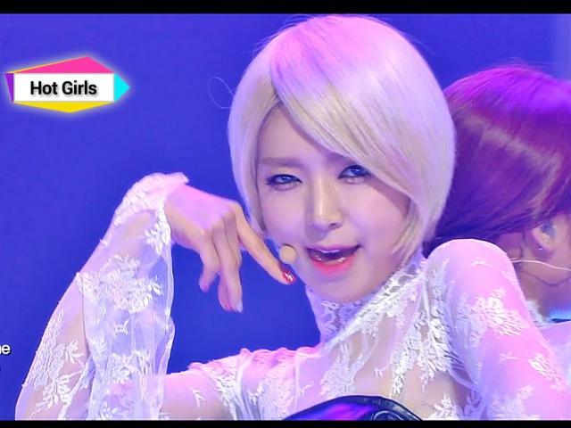 AOA - Like a Cat, 에이오에이 - 사뿐사뿐, Show Champion 20141126