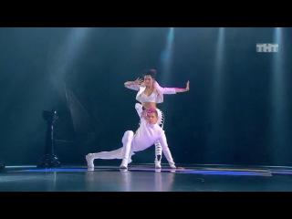 Танцы: Таня Рыжова и Саша Борисюк (Gossip - Pop Goes The World) (сезон 2, серия 12)