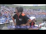 Katsuhiro Ueo AE86 VS Ken Nomura ER34 3 Wheel Incident at D1GP 2006 Rd.4
