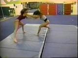 Mandy vs Mindy  C &amp B Video  Female Wrestling