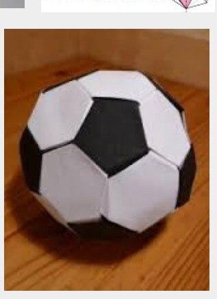 Как сделать футбольный мячик из бумаги видео - Leksco.ru
