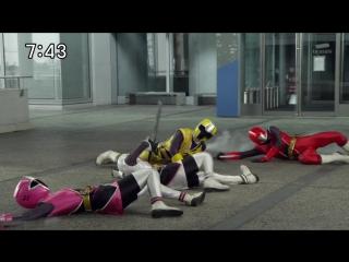 """Shuriken sentai ninninger - shinobi no 22, """"chou gattai! ha-oh shurikenjin"""""""