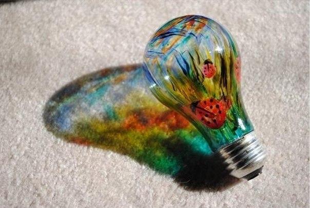 Как сделать яркую лампочку