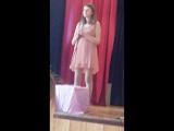 День семьи в нашем 7-б классе.поет София...