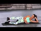 Train Like An Angel 2015: Alessandra Ambrosio Leg Workout