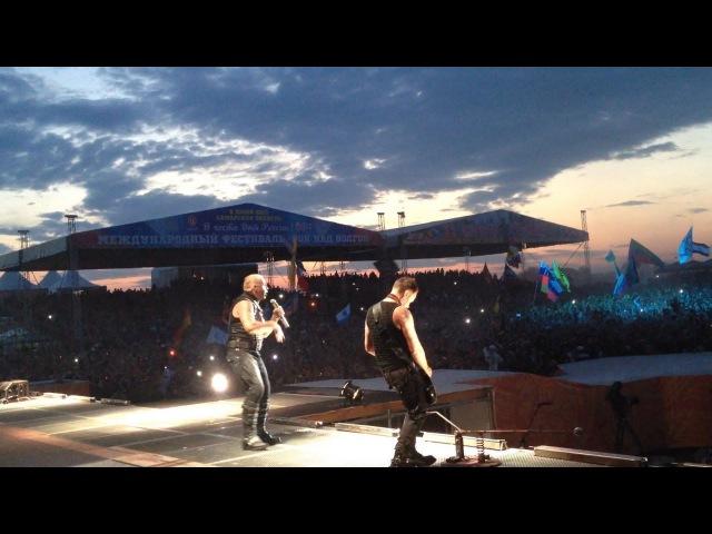 Rammstein @ Samara 12.06.2013 (Rock over Volga festival)