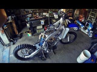 Ремонт Yamaha YZ-F 250 | как снять и разобрать двигатель мотоцикла