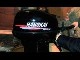 первый запуск лодочного мотора Hangkai 9.9