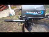 Первый запуск лодочного мотора SPEEDA 6.0