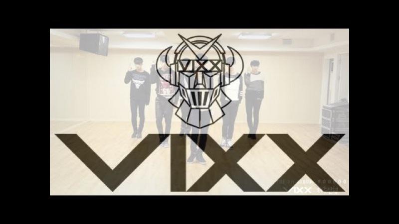 빅스(VIXX) - 저주인형 안무 연습 영상 (Practice VOODOO dancing Video)
