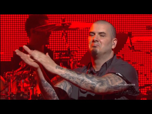 Anthrax This Love Raining Blood Live w-Phil Anselmo Rex Brown Revolver Golden Gods Awards 2013