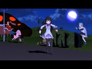 【MMD】Go home Homura, you are drunk