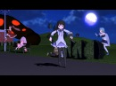 【MMD】Go home Homura, you are drunk【ハピトリ】HD Version!
