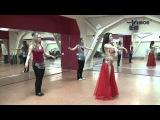 Урок движения. Восточные танцы. Тренер - Юлиана Мокрова