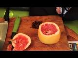 Кальян на грейпфруте с табаком FUMARI.