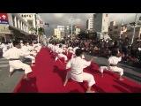 День каратэ на Окинаве. Показательные выступления разных школ