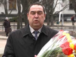 Поздравление главы Луганской Народной Республики с международным женским днем 8 марта