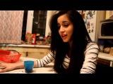 милая девушка на кухне нереально круто поет!!! (Melissa Elle - Elle)