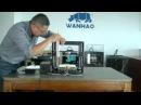 Как выровнять и откалибровать Z-направляющие на Wanhao Duplicator i3