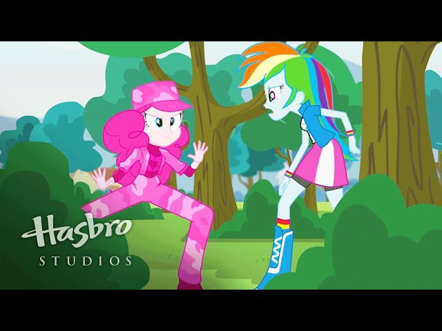 Мой маленький пони: Девушки Эквестрии - Пинки шпионит