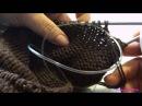 Вязание / Тёплая кофта / Работа над спинкой / Выпуск 1 / Warm jacket / Knitting backs / Issue 1