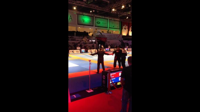 Abu Dhabi World Professional Jui-Jitsu Championship 2015 Semifinal 95 kg