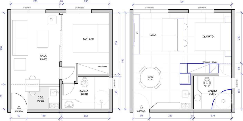 Концепт квартиры-студии 29 м.