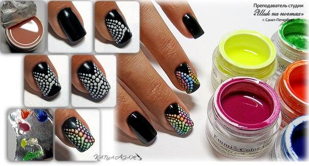 Мк по дизайну ногтей