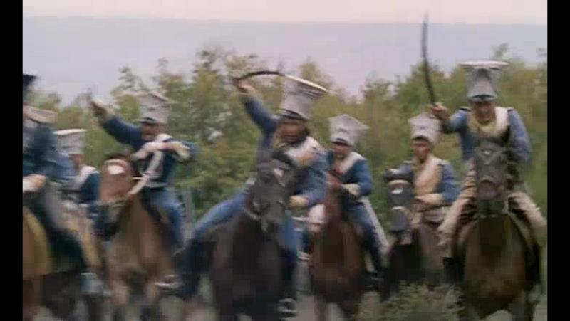 Нападение французской кавалерии (Приключения королевского стрелка Шарпа. Золото Шарпа)