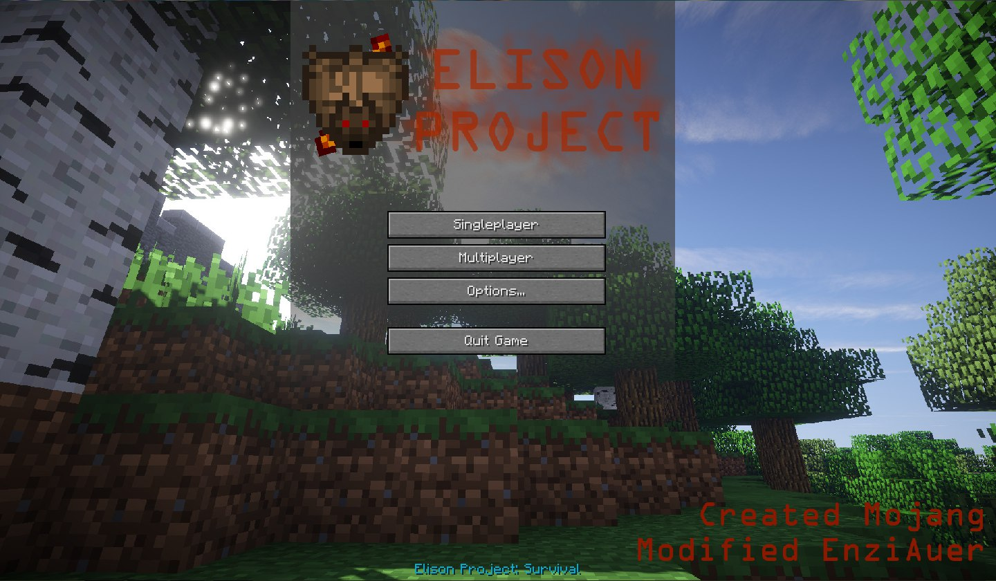 [Клиент][1.7.10] Elison Project: Survival v. 1.1