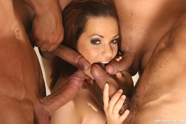 Групповое порно фото в контакте, изложения удивительная женщина