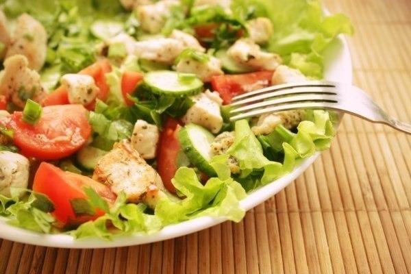 Пп салат с креветками