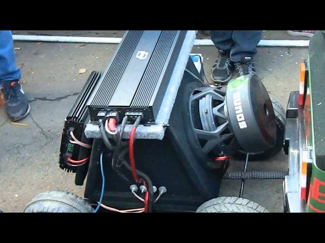 Самая громкая машина на SULIN MOTOR SHOW 2013