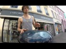 Fabian Küpper - Street Music Trier - SteelHarp (Hang Drum/Handpan)