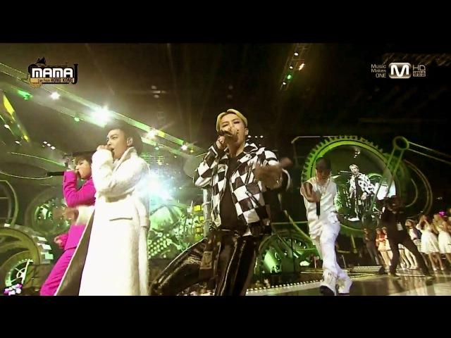 BIGBANG 1123 MAMA Performances