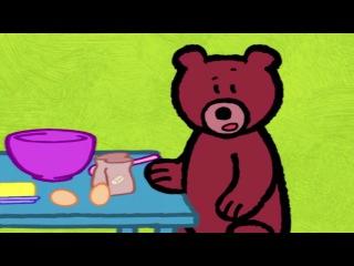 Мультфильмы для Малышей - Рисунки Тёмы - Нарисуй Медведя