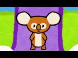 Мультфильмы для Малышей - Рисунки Тёмы - Нарисуй Коалу - учимся рисовать